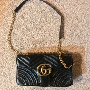Gucci GG Marmont Black Medium